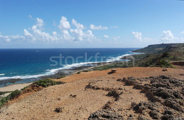 Taiwan coastal line Stock photo © tang90246