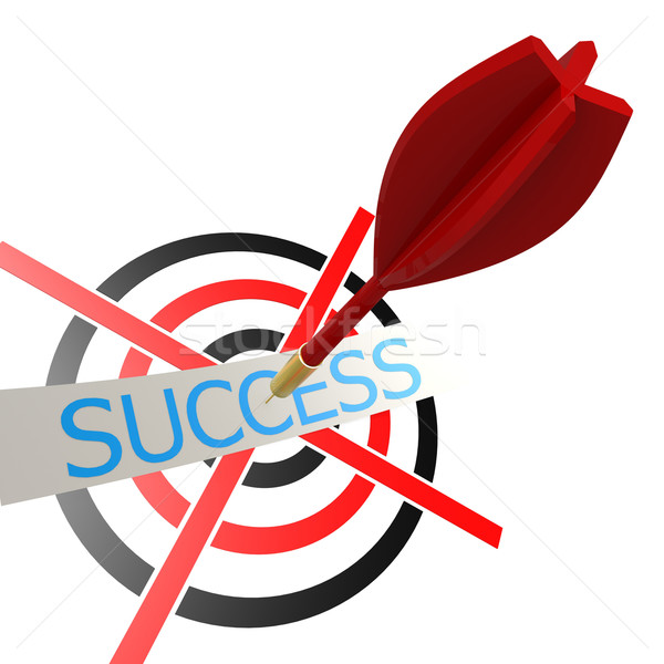 Success dart and board Stock photo © tang90246