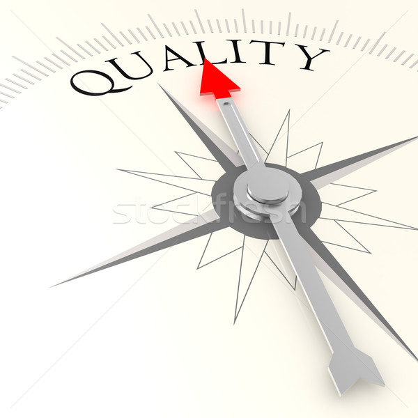 Quality compass Stock photo © tang90246