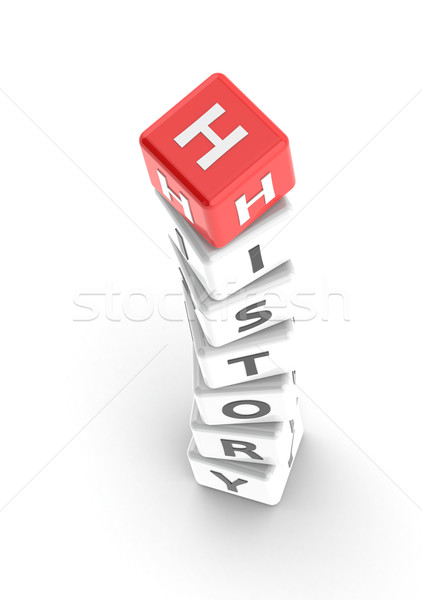 History puzzle word Stock photo © tang90246