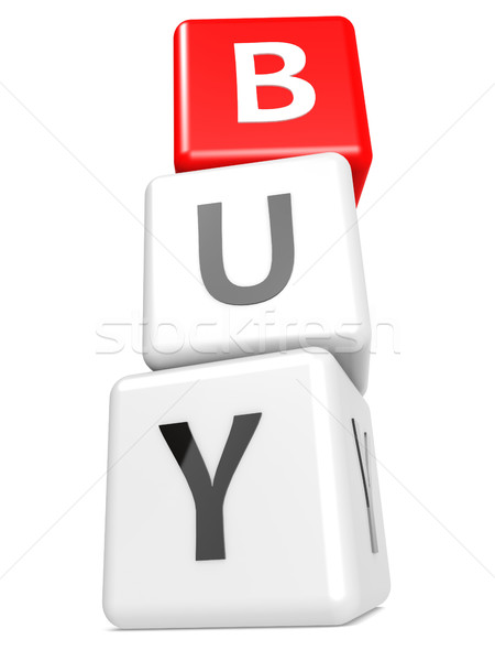Buzzword buy Stock photo © tang90246