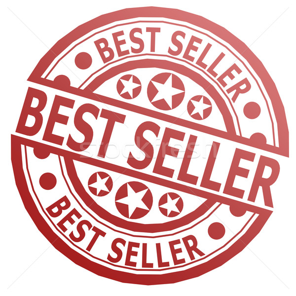 Best seller stamp Stock photo © tang90246