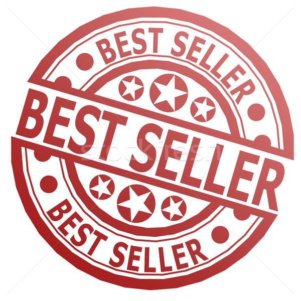 лучший продавец штампа изображение оказанный Сток-фото © tang90246