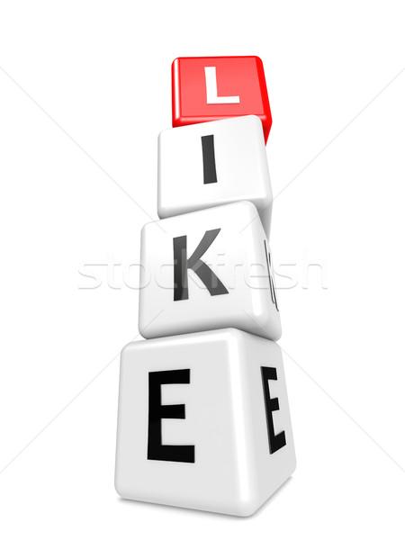 Buzzword like Stock photo © tang90246