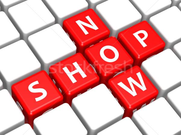 Shop now Stock photo © tang90246