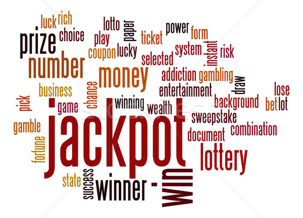 Jackpot word cloud Stock photo © tang90246
