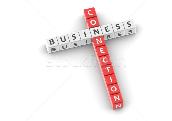 Business connection Stock photo © tang90246
