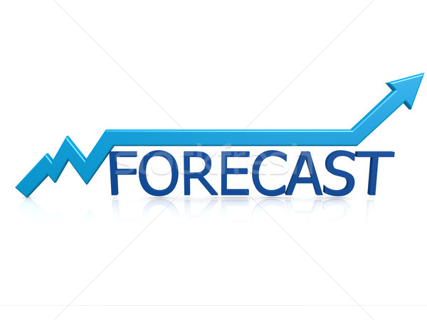 Forecast graph Stock photo © tang90246
