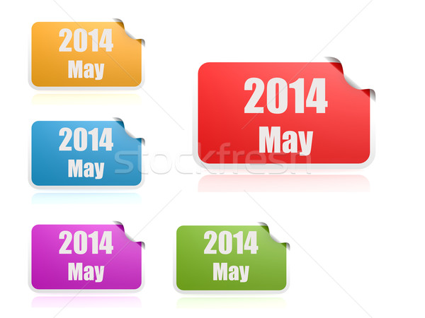 May of 2014 Stock photo © tang90246