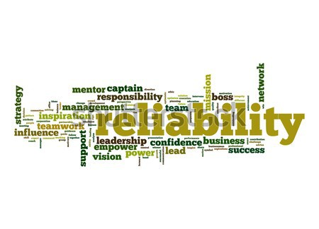 Reliability word cloud Stock photo © tang90246