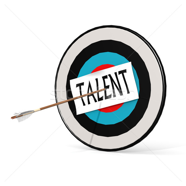 Talent and board Stock photo © tang90246