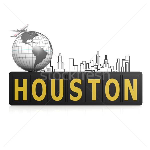 Хьюстон город мира земле путешествия городского Сток-фото © tang90246