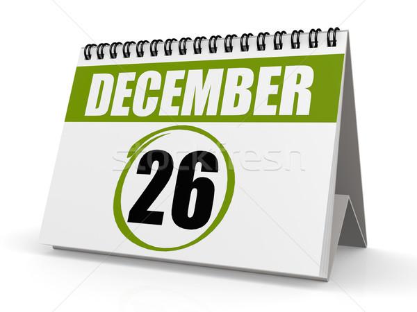 Dicembre 26 boxing giorno immagine reso Foto d'archivio © tang90246