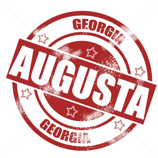 Augusta stamp Stock photo © tang90246