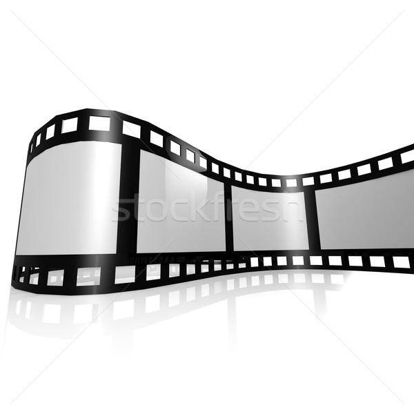 Yalıtılmış film şeridi film dijital fotoğraf bant Stok fotoğraf © tang90246