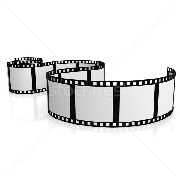 Izolált filmszalag film digitális fotó szalag Stock fotó © tang90246