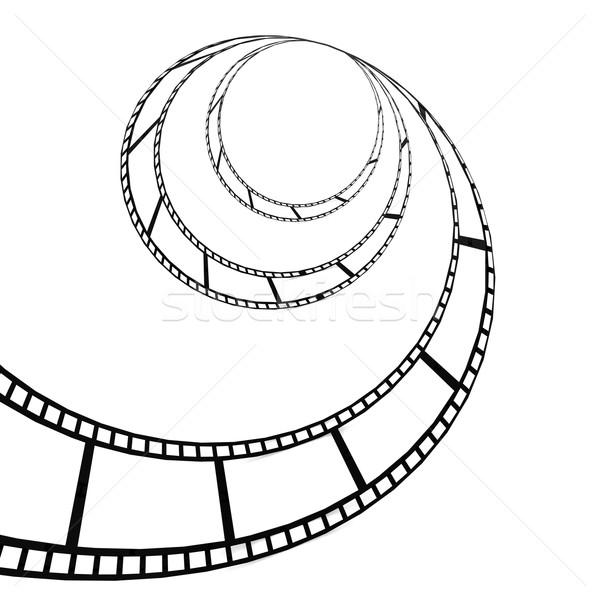 Filmstrip film ontwerp achtergrond kunst industrie Stockfoto © tang90246