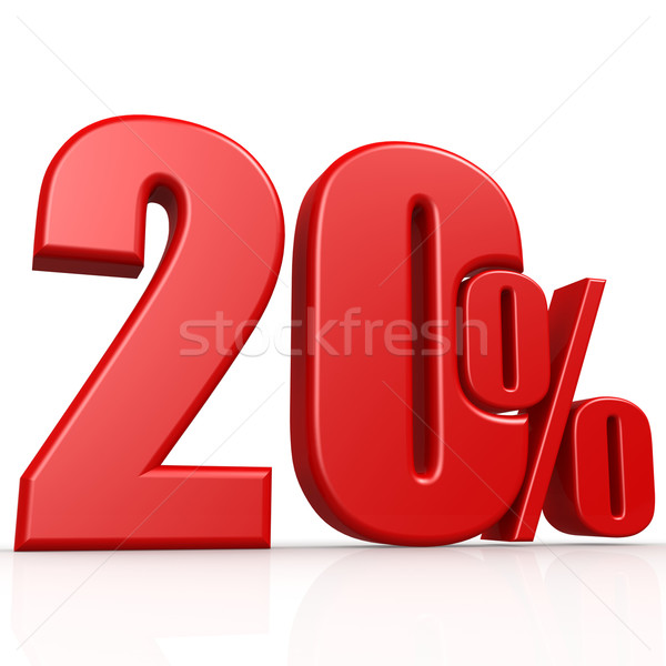 Twenty percent Stock photo © tang90246