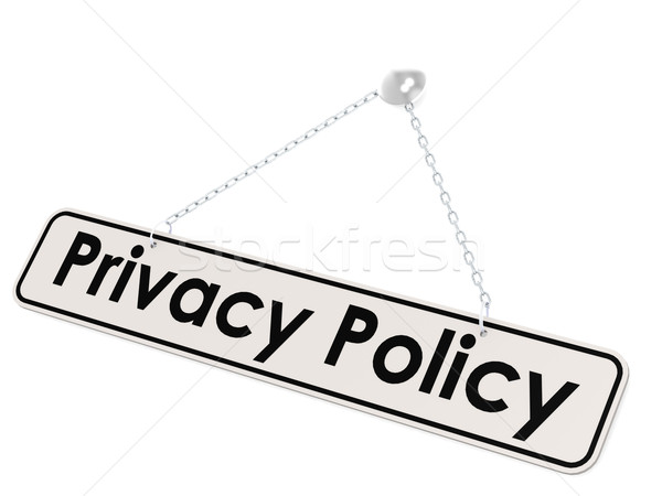 Privacy policy banner Stock photo © tang90246