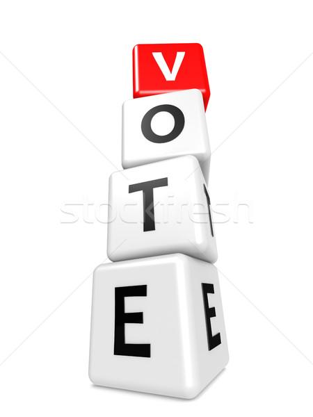 Buzzword vote Stock photo © tang90246