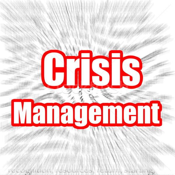 Crisis Management Stock photo © tang90246