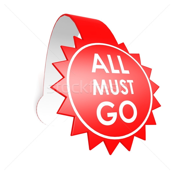 All must go star label Stock photo © tang90246
