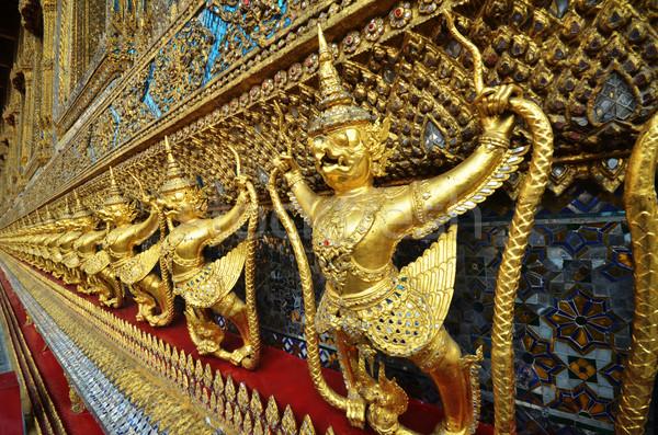 Palácio Tailândia céu edifício arquitetura estátua Foto stock © tang90246