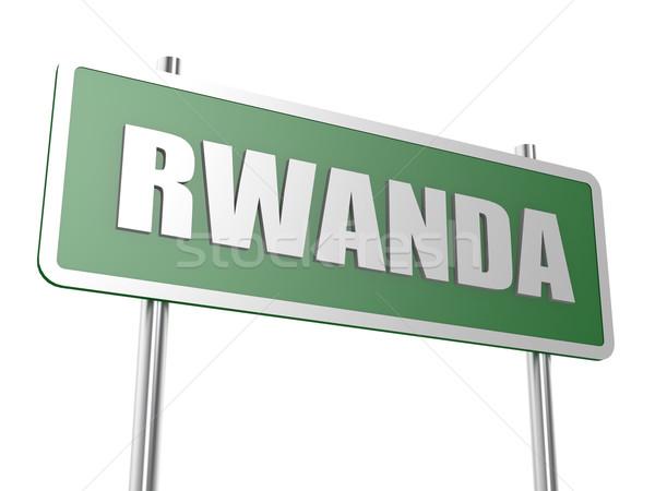 Rwanda image rendu utilisé design graphique Photo stock © tang90246