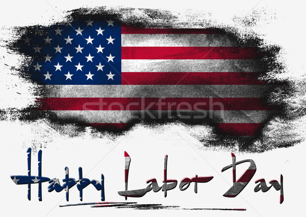 Flag of United States, Labor Day Stock photo © tang90246