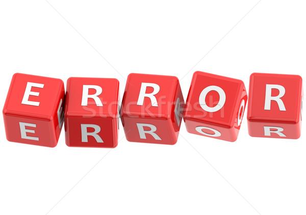 Buzzwords error Stock photo © tang90246