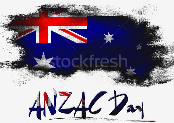 Nap zászló renderelt mű használt grafikai tervezés Stock fotó © tang90246