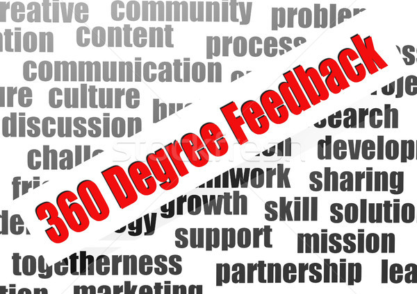 360 Degree Feedback Stock photo © tang90246