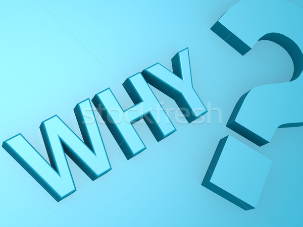Why question mark Stock photo © tang90246