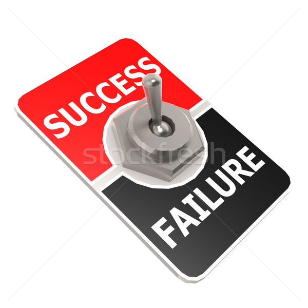 Success toggle switch Stock photo © tang90246