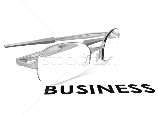 Business spectacle Stock photo © tang90246