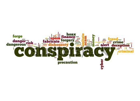 Conspiracy word cloud Stock photo © tang90246