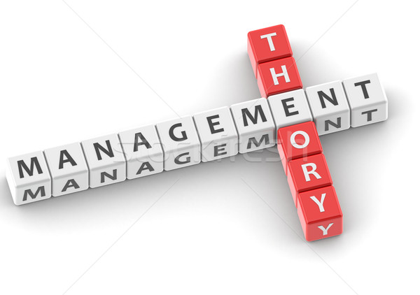 Management theory Stock photo © tang90246