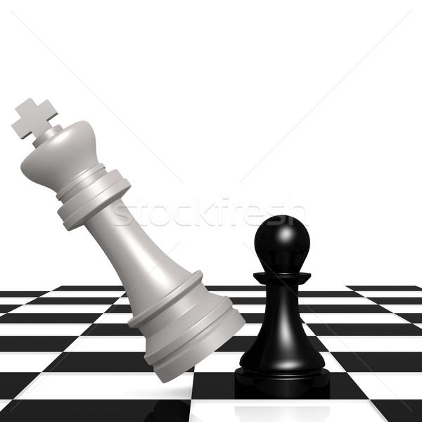Chess checker Stock photo © tang90246