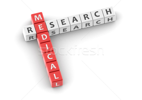 Buzzwords medical research Stock photo © tang90246