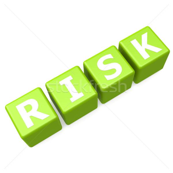 риск зеленый головоломки рынке успех концепция Сток-фото © tang90246