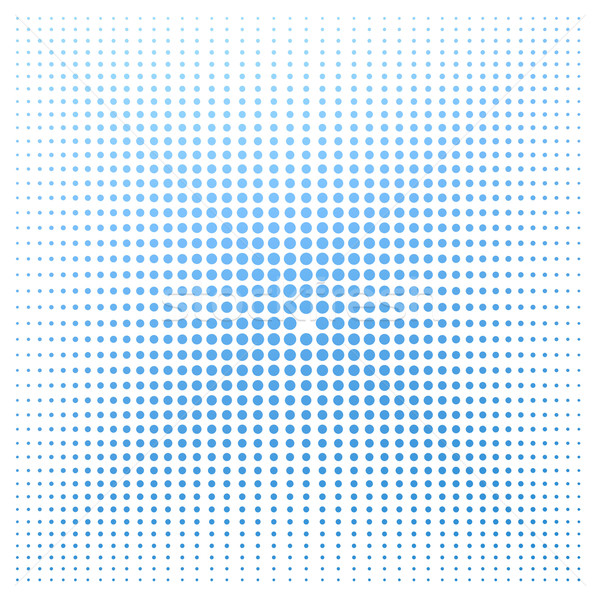 Blue dot with white background Stock photo © tang90246