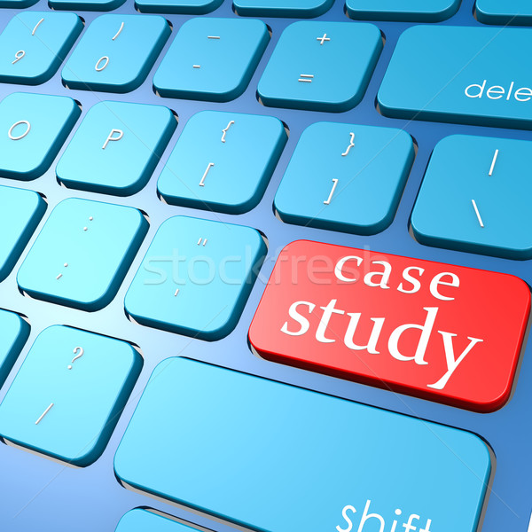 Case study keyboard Stock photo © tang90246