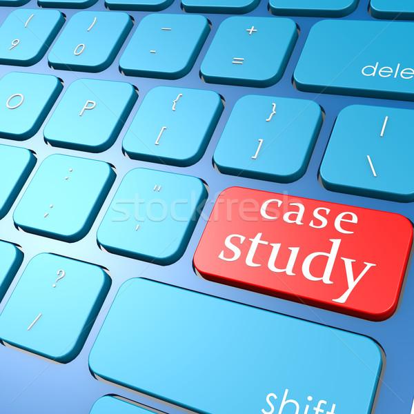 Durum çalışma klavye okul eğitim eğitim Stok fotoğraf © tang90246