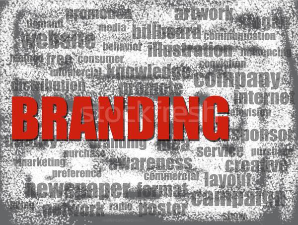 брендинг веб успех менеджера белый реклама Сток-фото © tang90246