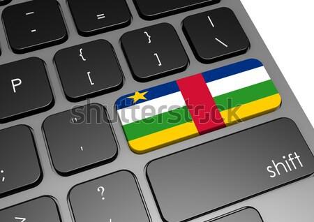 таблетка центральный африканских республика флаг изображение Сток-фото © tang90246