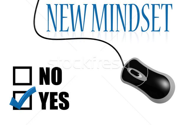új gondolkodásmód csekk osztályzat kép renderelt Stock fotó © tang90246