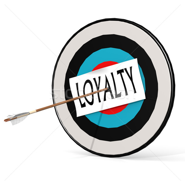 Arrow, loyalty and board Stock photo © tang90246