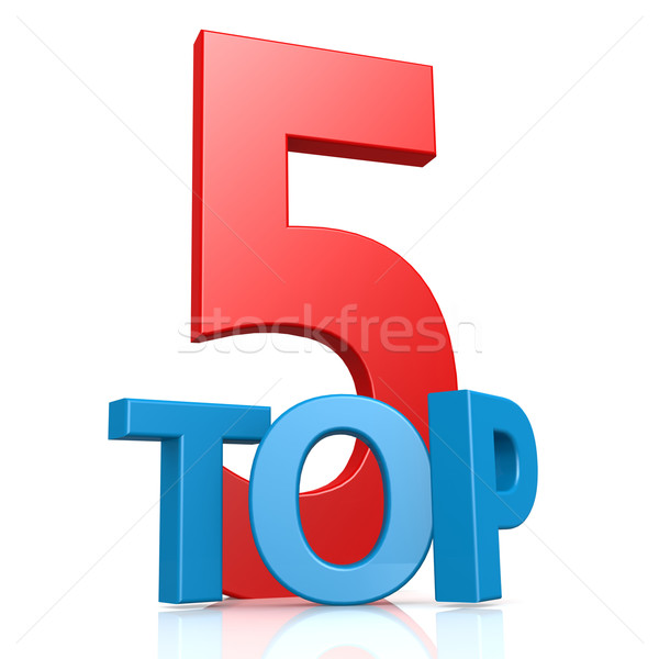 Top слово победителем символ конкуренция место Сток-фото © tang90246