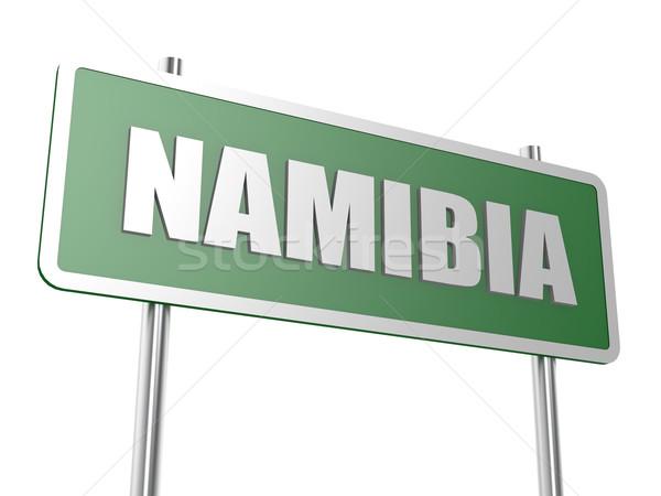 Намибия изображение оказанный используемый графического дизайна Сток-фото © tang90246
