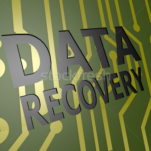 Boord gegevens genezing computer internet netwerk Stockfoto © tang90246